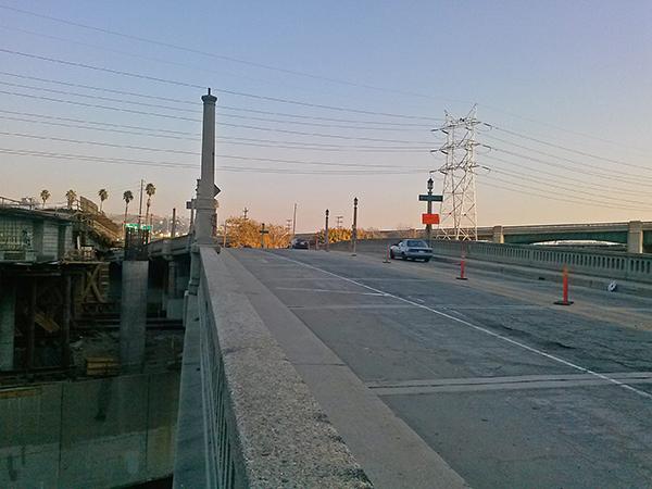 The Riverside Figueroa bridge today