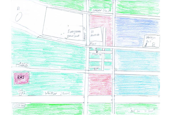 The first layer of Daniels' neighborhood map.