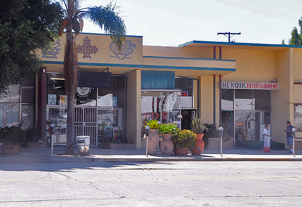 Eso Won Books on Degnan Blvd. in Leimert Park