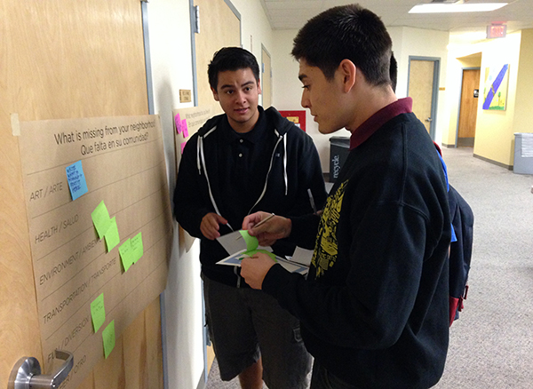 LARS students think about what's missing in their community.jpg