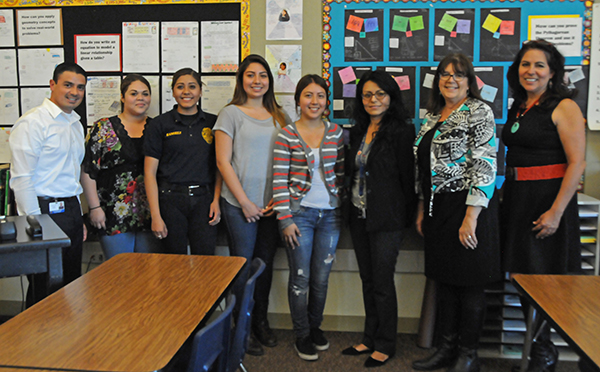 LasOgs with Mr. Ortega, Ms. Torres, Ms. Raymond , and Ms. Quezada