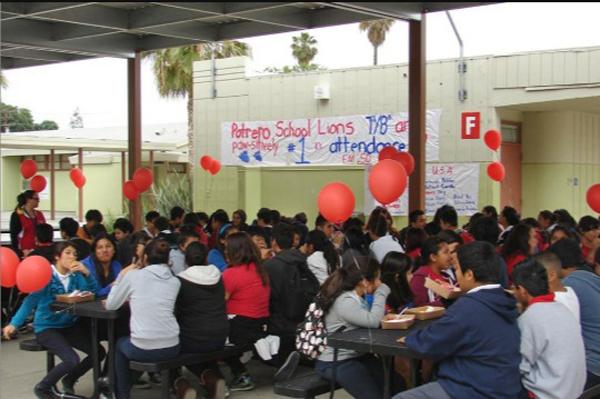 Cafeteria at Potrero School