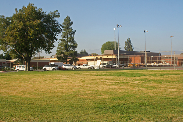 Proposed site for Bobby Salcedo Memorial Garden at MVHS
