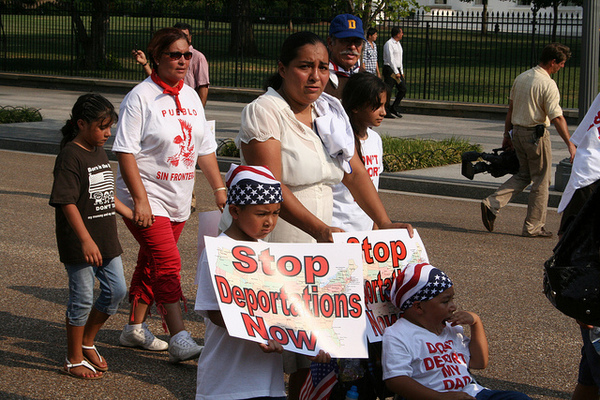 Protest march in Washington D.C., July 2010. Photo by cfpereda used under a Creative Commons license