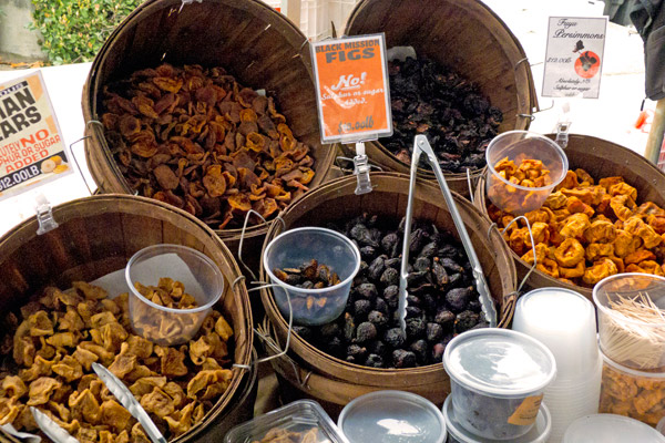 Arnett Farms dried fruits including asian pears and persimmons