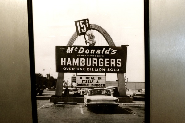 Oldest operating McDonald's. Opened August 18, 1953