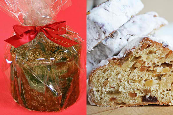Pannettone and Stollen