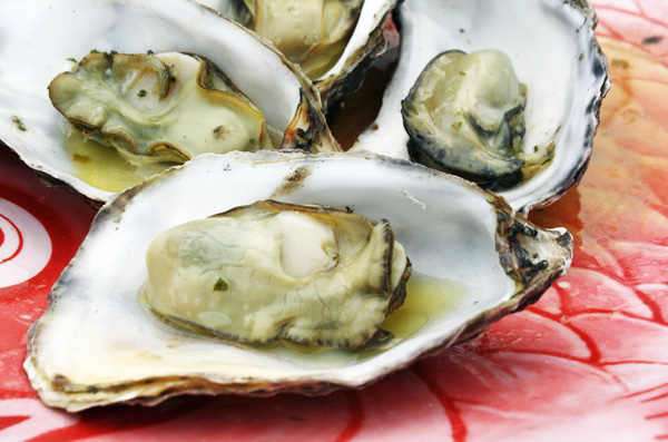 Grilled Oysters from the Morro Bay Oyster Company