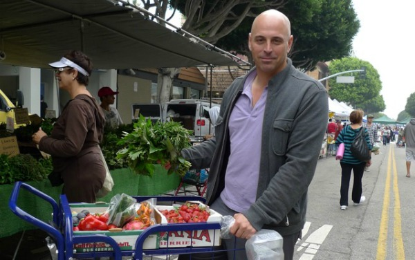 Matt at the market