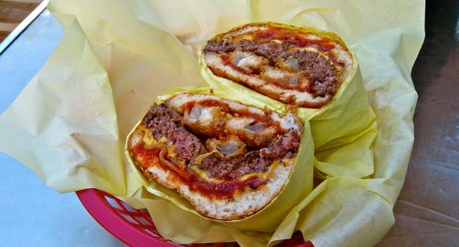 Northeastern Bacon Cheeseburger