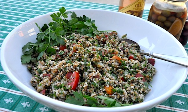 Vegan Tabbouleh | Photo: Cindy Pitou Burton