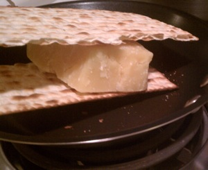 Matzah and Cheese