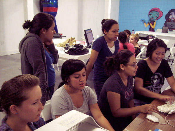 Young Journos at Work!