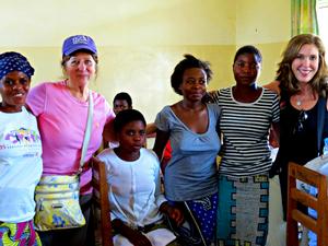 Janice, Terri, and Maison Dorcas residents (Bukavu, South Kivu, Dem. Repl. of Congo)