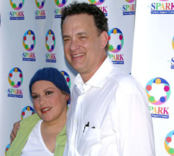 Wendie Jo Sperber and Tom Hanks