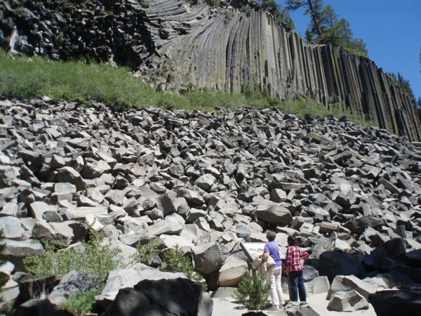 The namesake icon of Devils Postpile National Monument | Photo vis NPS/Facebook