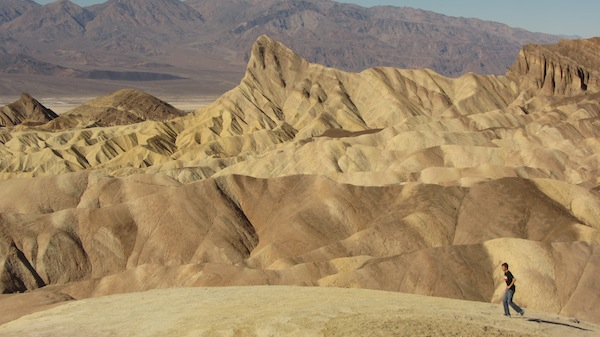 Zabriskie Point in Death Valley National Park. | Photo: Zach Behrens/KCET