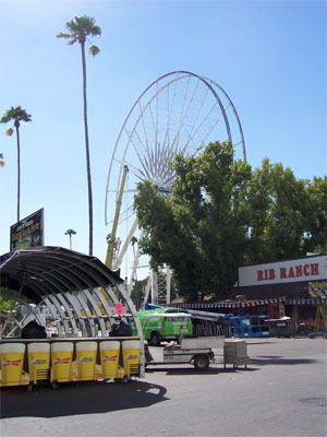 LA County Fair before it opens