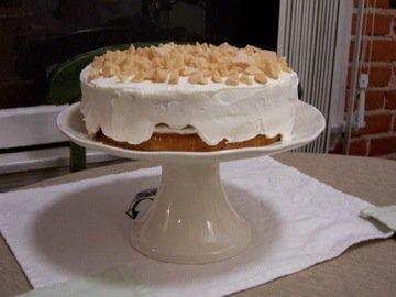 toffee crunch cake à la Kelsey