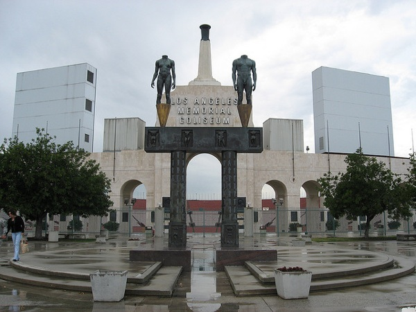 The Los Angeles Memorial Coliseum has hosted two Olympic Games and two Super Bowls.