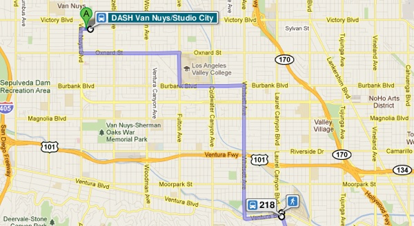 LADOT: DASH and Commuter Express Now on Google Maps | KCET