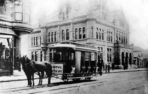 L A S First Streetcars Were Horse Powered Kcet
