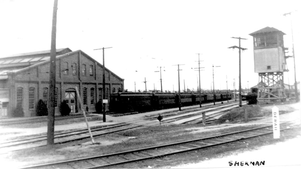 The Pacific Electric's Sherman rail yard. Courtesy of the Metro Transportation Library and Archive. Used under a Creative Commons license.