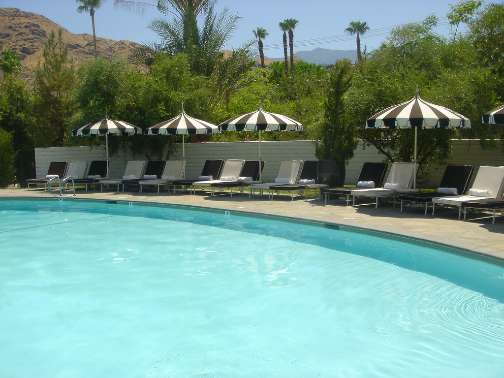 Poolside at The Parker | Creative Commons photo by Ricardo Diaz