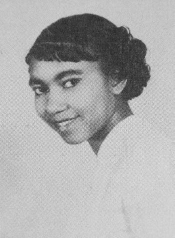 Alicestyne Tyson, 1953 Yearbook Photo