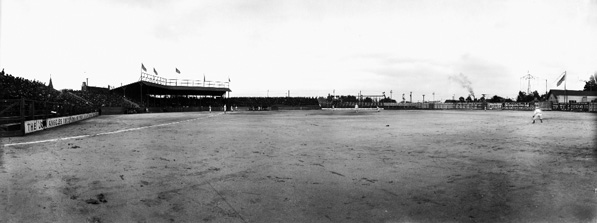 Washington Park, home of the Los Angeles Angels. Courtesy of the USC Digital Library, California Historical Society Collection.
