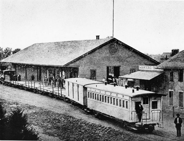 Photos L A S First Railroads Connected The Region To The