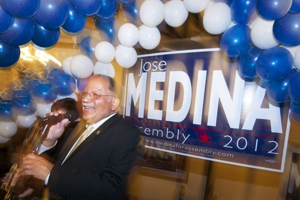Jose Medina, victor 41st Assembly District | Photo: Douglas McCulloh