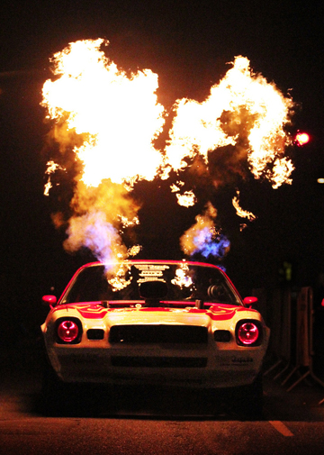 'Wild Thing,' Kenny Asche's fire-breathing 1978 Camero. | Photo: Courtesy Andrea Kaus