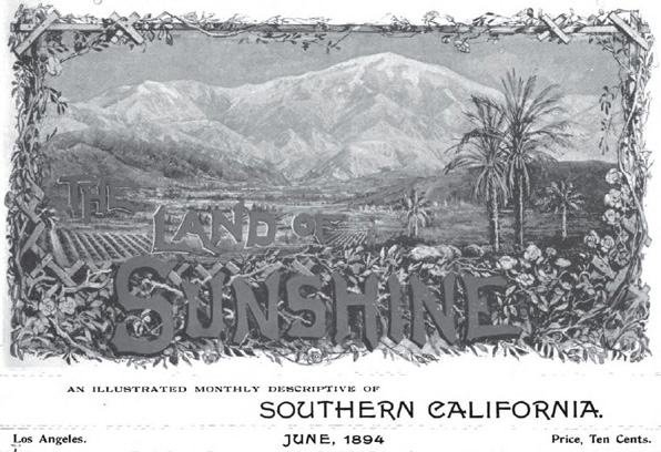 Masthead of the June 1894 inaugural issue of Lummis' magazine