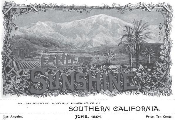 Masthead of the June 1894 inaugural issue of Lummis' magazine