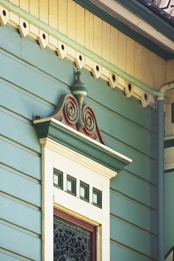 Detail of The Waite House. | Photo: Douglas McCulloh