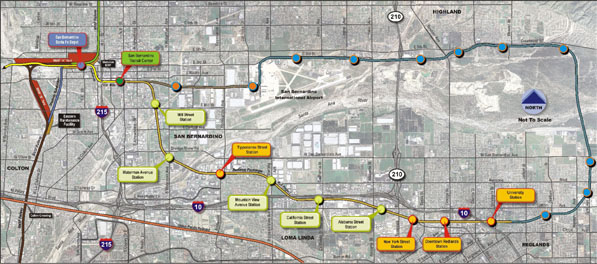 Proposed Inland Empire Train Would Connect San Bernardino and