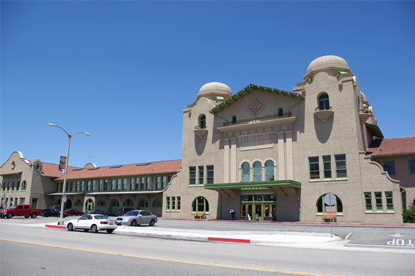 San Bernardino Santa Fe Depot  I Photo by Ed Fuentes