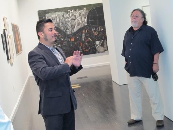 Museum board member Pete Galindo