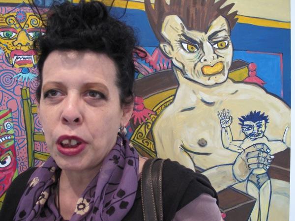 Artist Diane Gamboa