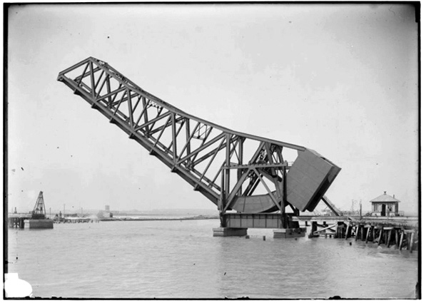 Bridge over the Cerritos Channel (Call Number: 02 - 00129; Date: 9/22/1910)