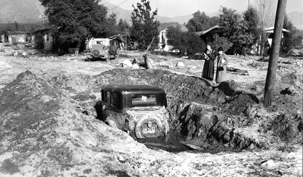Buried Car, 1934