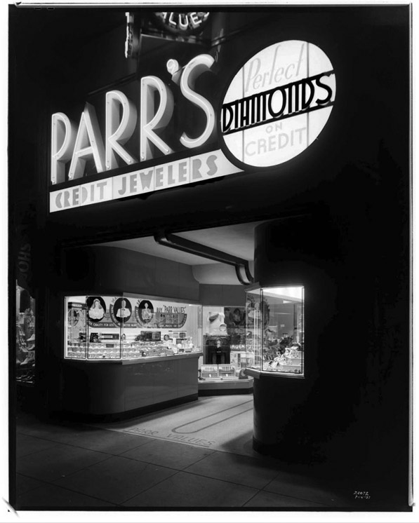 Parr Jewelry Store (Call Number: 02 - 20072; Date: 7/14/1937