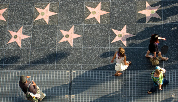 Stars are out in Hollywood