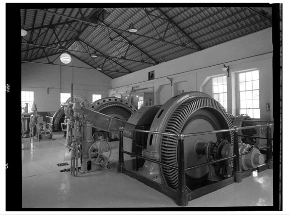 Hydropower Generator (Call Number: 02 - 17253; Date: 7/11/1930