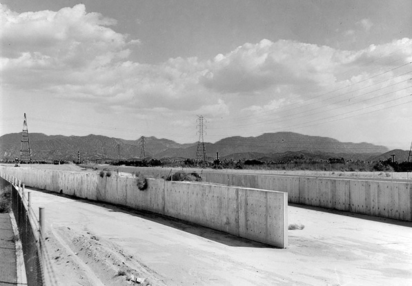 1958, Pacoima Wash and Big Tujunga Channel