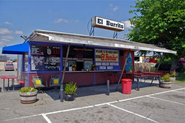 El Burrito I Photo: Ed Fuentes