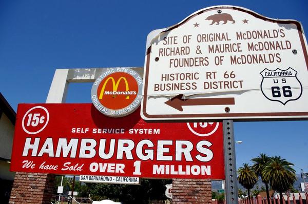 McDonalds sign I Photo: Ed Fuentes