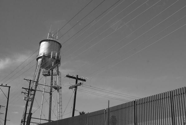 On the other side of the fence, the industrial capital city of Baja California: Mexicali | Creative Commons photo by Omar Barcena