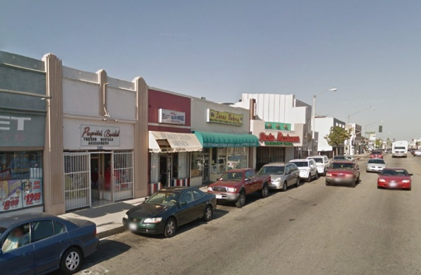 Gage Avenue in Bell, CA. | Photo: Courtesy Google